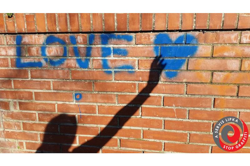 odstranenie graffity