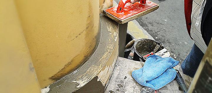 opravy fasád hl.